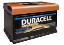 DURACELL ADVANCED - DA 80
